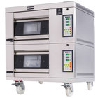 Doyon 1T2 Artisan 2 Stone 18 1/2 inch Deck Oven - 2 Pan Capacity, 208V, 3 Phase