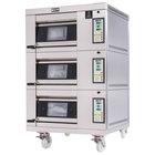 Doyon 1T3 Artisan 3 Stone 18 1/2 inch Deck Oven - 3 Pan Capacity, 208V, 3 Phase