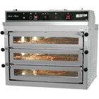 Doyon PIZ3G Natural Gas Triple Deck Pizza Oven - 120V, 70,000 BTU
