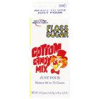 Great Western 1/2 Gallon Carton Pina Colada Cotton Candy Floss Sugar