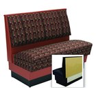 American Tables & Seating AS48-66U-Wall Alex Style Wall Bench - Upholstered - 48 inch High