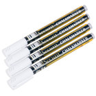 American Metalcraft BLSMA100V4WH Securit All-Purpose Mini Tip White Chalk Marker - 4/Pack