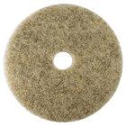 Scrubble by ACS 35-19 Type 35 19 inch Hair Blend Medium Burnishing Floor Pad - 5/Case