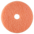 Scrubble by ACS 36-19 19 inch Pink Burnishing Floor Pad - Type 36 - 5/Case
