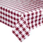 Burgundy Checkered