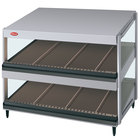Hatco GRSDS-36D Glo-Ray 36 inch Slanted Double Shelf Merchandiser - 120V