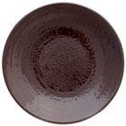 Elite Global Solutions D638RR Pebble Creek Aubergine-Colored 6 3/8 inch Round Plate