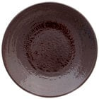 Elite Global Solutions D10RR Pebble Creek Aubergine-Colored 10 inch Round Plate
