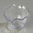 Carlisle 453207 Clear Polycarbonate 5.4 oz. Tulip Berry Dish - 24/Case