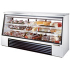 True TSID-96-3 Single Duty Three Door Refrigerated Deli Case - 32 Cu. Ft.