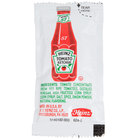 Heinz Ketchup 9 Gram Portion Packets - 1000/Case