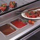 Bakers Pride 21888422 Dante Series 12 inch Stainless Steel Work Deck