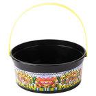 24 oz. Plastic Nachos Mucho Bucket - 200 / Case