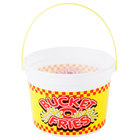 48 oz. Plastic French Fry Bucket with Handle - 160 / Case