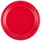 Creative Converting 791031B 7 inch Classic Red Paper Plate - 240/Case
