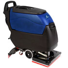 Pacific 855406 S-20 20 inch Walk Behind Orbital Auto Floor Scrubber with Traction Drive - 140AH AGM Maintenance Free Batteries with Charger