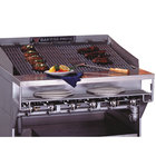 Bakers Pride CH-12 Radiant Charbroiler Stainless Steel Plate Shelf with Richlite Work Deck
