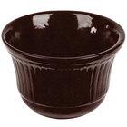 Tablecraft CW1453MIS 16 oz. Midnight Speckle Cast Aluminum Condiment Bowl