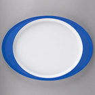 Carlisle Colored Rim Melamine Dinnerware