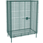 Metro SEC53K3 Metroseal 3 Stationary Wire Security Cabinet 38 1/2 inch x 27 1/4 inch x 66 13/16 inch