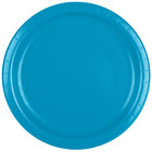 Creative Converting 473131B 9 inch Turquoise Blue Paper Plate - 240/Case