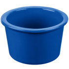 Tablecraft CW1660CBL 17 oz. Cobalt Blue Cast Aluminum Condiment Bowl
