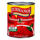 Furmano's Ground Peeled Tomatoes in Puree #10 Can