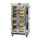 Doyon JAOP6SL Double Deck Jet Air Electric Oven Proofer Combo with Side Pan Loading - 208V, 3 Phase, 14 kW