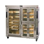 Doyon JAOP12SL Two Section Jet Air Electric Oven Proofer Combo with Side Pan Loading - 24.5 kW
