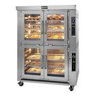 Doyon JAOP10G Liquid Propane Double Deck Jet Air Oven Proofer Combo - 240V, 85,000 BTU