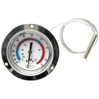 All Points 62-1040 2 1/2 inch Recessed Dial Thermometer with 48 inch Capillary