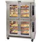 Doyon JA20G Jet Air Liquid Propane Double Deck Bakery Convection Oven - 240V, 170,000 BTU