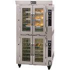 Doyon JA14G Jet Air Liquid Propane Double Deck Bakery Convection Oven - 240V, 130,000 BTU