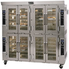 Doyon JA28G Jet Air Liquid Propane Double Deck Bakery Convection Oven - 208V, 260,000 BTU
