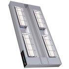 Hatco UGAH-48D Ultra-Glo 48 inch x 18 inch High Watt Double Strip Infrared Warmer with Remote Toggle Control Box - 4050W