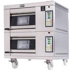 Doyon 1T2 Artisan 2 Stone 18 1/2 inch Deck Oven - 2 Pan Capacity, 480V, 3 Phase