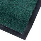 Cactus Mat 1437M-G23 Catalina Standard-Duty 2' x 3' Green Olefin Carpet Entrance Floor Mat - 5/16