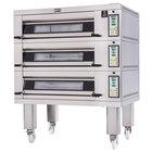 Doyon 2T3 Artisan 3 Stone 37 1/2 inch Deck Oven - 6 Pan Capacity, 480V, 3 Phase