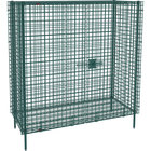 Metro SEC56K3 Metroseal 3 Stationary Wire Security Cabinet 62 1/2 inch x 27 1/4 inch x 66 13/16 inch