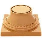 Elite Global Solutions M74P Symmetry Sunburn Terra Cotta 3 3/4 inch Pedestal Base
