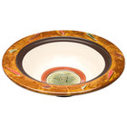 Elite Global Solutions V1333 Artist 2.75 Qt. Bas Relief Rimmed Melamine Bowl