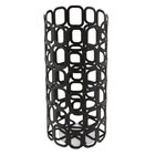 Sterno 85248 2 7/8 inch x 6 inch Black Square Wire Metal Lamp Base