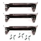 True 872011 4 inch Casters with Frames - 6/Set