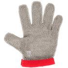 Victorinox 81503 saf-T-gard Red Cut Resistant Stainless Steel Mesh Glove - Medium
