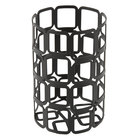 Sterno 85250 2 1/2 inch x 4 inch Black Square Wire Metal Lamp Base