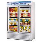 Turbo Air TGF-49F White 54 inch Glass Door Merchandising Freezer