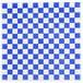 "Choice 15"" x 15"" Blue Check Deli Sandwich Wrap Paper - 1000/Pack Thumbnail 1"
