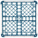 "Vollrath 52694 Signature Full-Size Royal Blue 16-Compartment 2 13/16"" Short Glass Rack Thumbnail 5"