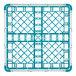 "Vollrath 52689 Signature Full-Size Light Blue 36-Compartment 2 13/16"" Short Glass Rack Thumbnail 5"