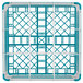 "Vollrath 52764 Signature Full-Size Light Blue 9-Compartment 9 1/16"" XX-Tall Plus Glass Rack Thumbnail 5"